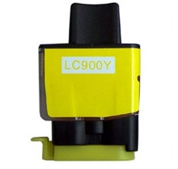 LC-900Y Brother compatible (Yellow)