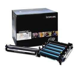 Lexmark C540X74G Black en Color Imaging Kit