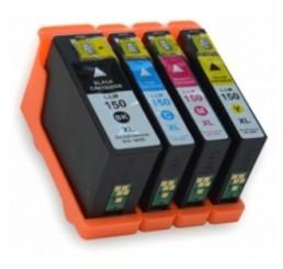 Lexmark 150XL inktcartridges / 14N1807E - Multipack (Huismerk)