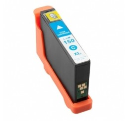 Lexmark 150XL inktcartridge / 14N1615E - Cyaan (Huismerk)