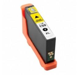 Lexmark 150XL inktcartridge / 14N1618E - Yellow (Huismerk)