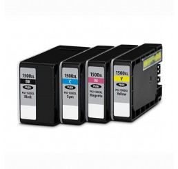 Canon PGI-1500XL Inktcartridge Multipack C/M/Y/BK (huismerk)
