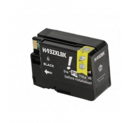 HP 932XL (CN053AE) high-capacity zwarte inktcartridge (Huismerk)