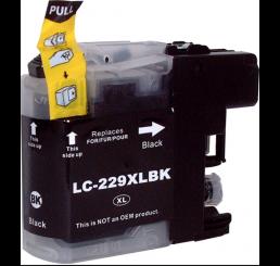 Brother LC-229BK inkt cartridge, Black (Huismerk)