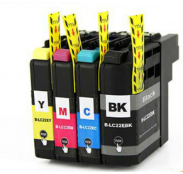 Brother LC-22E BK inkt cartridge, Black (Huismerk)