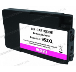 HP 953XL inktcartridge Magenta, Huismerk 20ml.