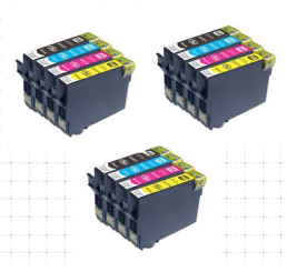 3 Sets Epson 18XL inktcartridges (Huismerk)