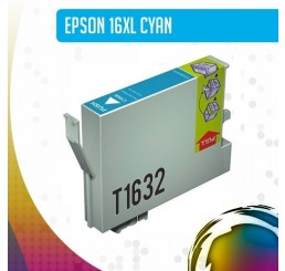 Epson 16XL (T1632) inkt cartridge Cyaan, Huismerk
