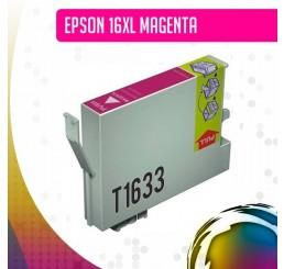 Epson 16XL (T1633) inkt cartridge Magenta, Huismerk