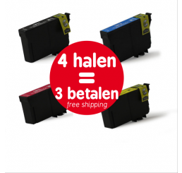 Epson 18XL (T1816) inktcartridges Multipack (Huismerk)
