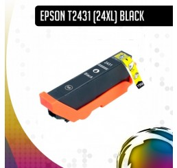 Epson 24XL (T2431) inkt cartridge Black, Huismerk