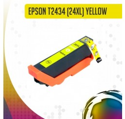 Epson 24XL (T2434) inkt cartridge Yellow, Huismerk