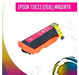 Epson 26XL (T2633) inkt cartridge Magenta, Huismerk