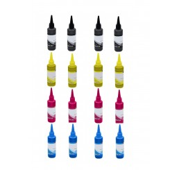 4 Sets T664 Compatible Epson Ecotank Series inkt | T6641/T6642/T6643/T6644