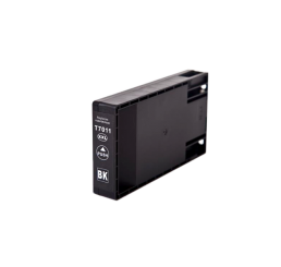 T7011 Epson compatible cartridge Black 77ml. Huismerk