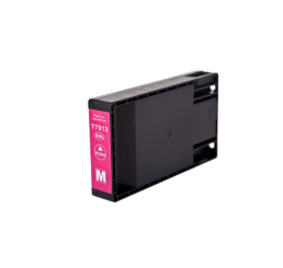 T7013 Epson compatible cartridge Magenta 49ml. Huismerk