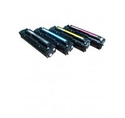 HP Tonerset CB540A, CB541A, CB542A, CB543A (huismerk)