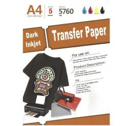 Transferpapier donker Textiel