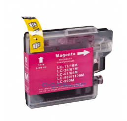LC-980M/LC-1100M Brother Compatible inkt cartridge, Magenta