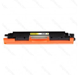 HP 130A (CF352A) Toner Cartridge Huismerk (Yellow)