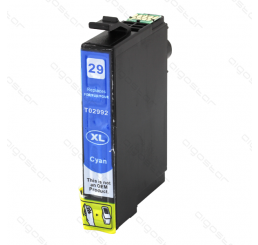 Epson 29XL (T2992) inkt cartridge Cyaan, Huismerk