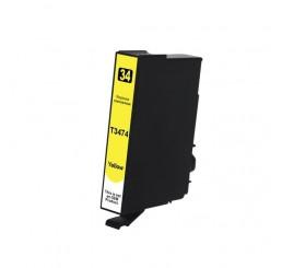 Geschikt T3474 Epson 34XL inktcartridge Yellow