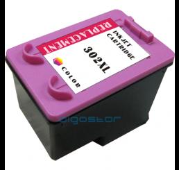 HP 302XL (F6U67AE) inkt cartridge (Kleur) Huismerk