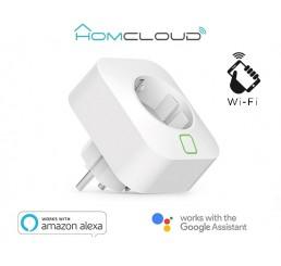 Slimme Wi-Fi Stekker Plug 16A EU met Energie verbruik Monitor
